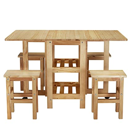shougui trade - Juego de sillas de Comedor de Cocina, Mesa ...