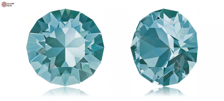 Cristales de Swarovski 1165685 Piedras Redondas 1088 SS SS 1088 34 Light Turquoise F, 144 Piezas 042430
