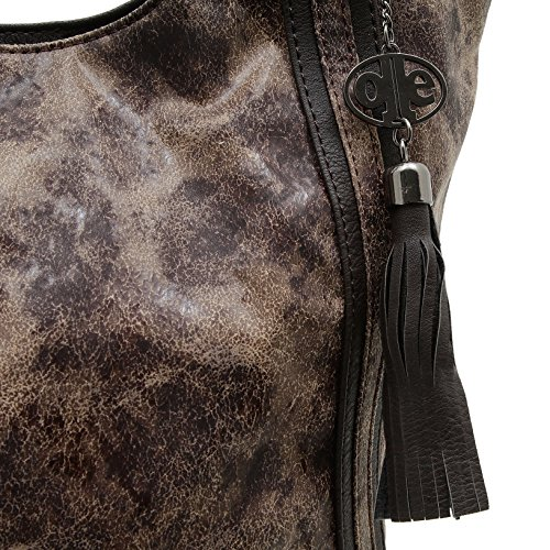 Handles 3442 Bag Woman Brown Jones Jennifer qw7OBx
