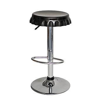 1 X Taburete Para Bar Cocina Comedor Diseno Negrocrown Cork - Taburetes-cocina-diseo