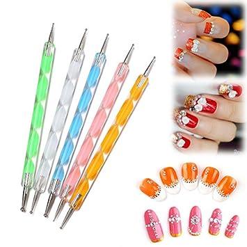 Juego de 20 pinceles para uñas, diseño de herramientas para dibujar y pintar, herramientas profesionales para uñas, pinceles y pinceles: Amazon.es: Belleza