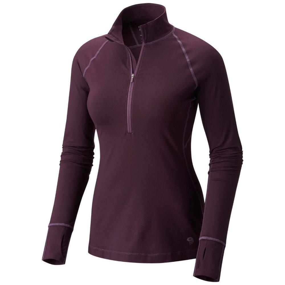 Mountain Hardwear Womens Butterlicious Long Sleeve 1//2 Zip Top