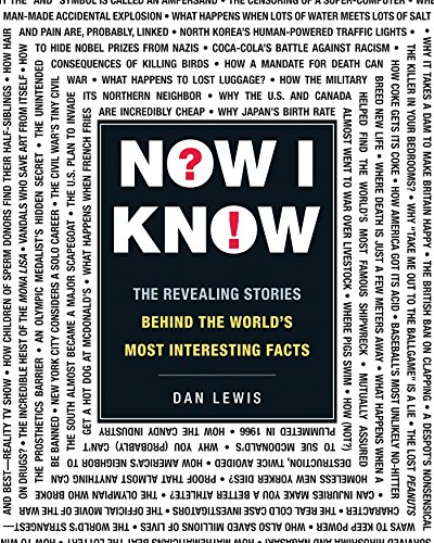 Now I Know: The Revealing Stories Behind the World's Most Interesting Facts by Dan Lewis cover