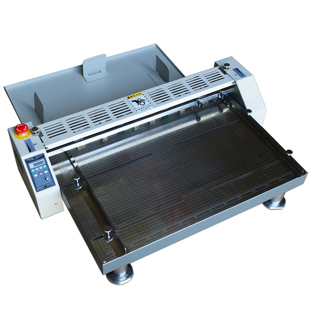 26inch 660mm Electric Creaser Scorer Perforator Paper Creasing Machine 110v