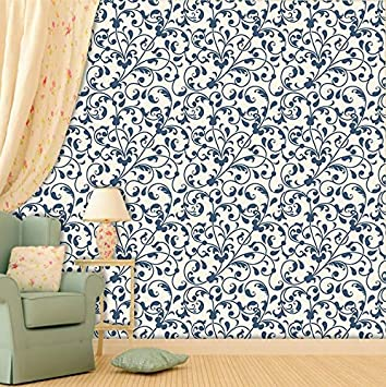 Buy Printelligent Ethnic Print Theme Home Wallpaper Wall Decor Self Adhesive Wallpaper 10 Square Feet 16 Inch X 90 Inch X 1 Roll Online At Low Prices In India Amazon In