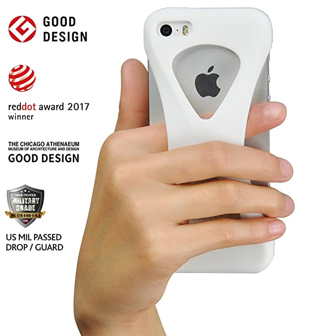 1 opinioni per ECBB MAKERS. EUROPE Custodia Case Palmo per iPhone SE/5s/5c/5 (Bianco) One