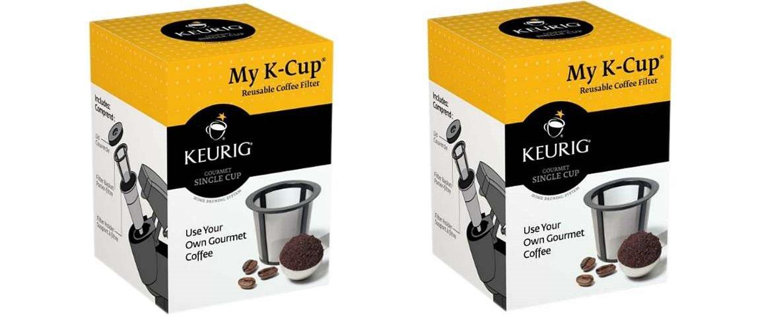 KeurigMyK-CupReusableCoffee Filters(2) [R5Y7Z7G2] (PACK OF 2)