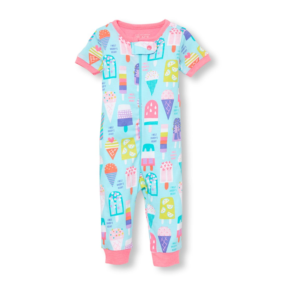 The Children's Place Baby Girls Short Sleeve