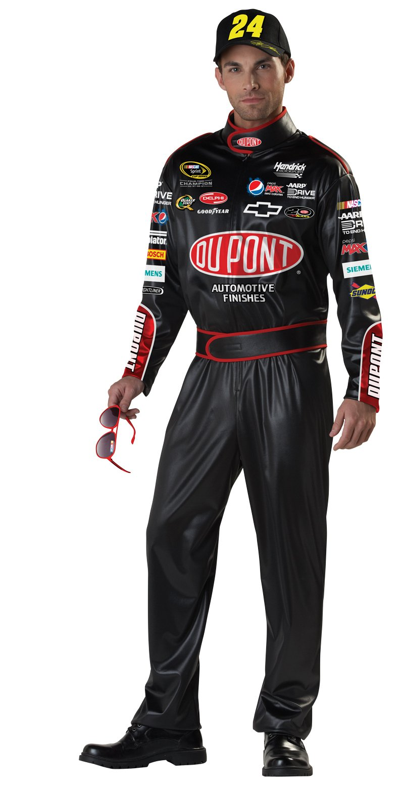 California Costumes Nascar Jeff Gordon, Black, X-Large Costume by California Costumes