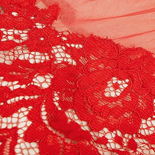 Xl Invernale Nuovo Da Di Vestito Elegante Rosso Sottile Sera Pizzo Brindisi Bingqz Sposa Servizio Abbigliamento Abito Porta PXatxS
