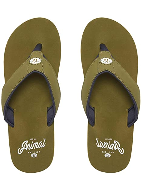 Animal Bazil Infradito in Blu Navy Scuro