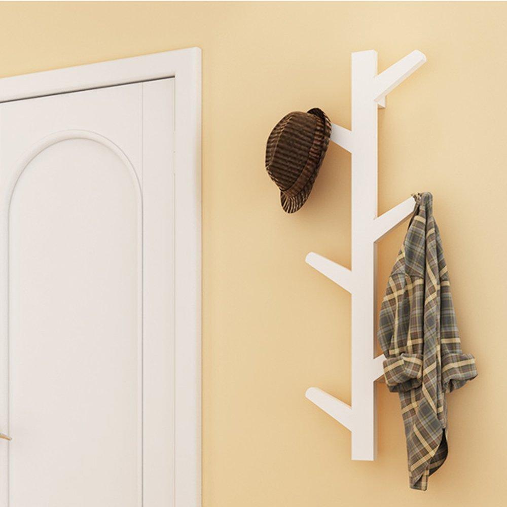 yazi Creative Retro Tree Style Wall Mounted Hanger Coat Hat Rack ...
