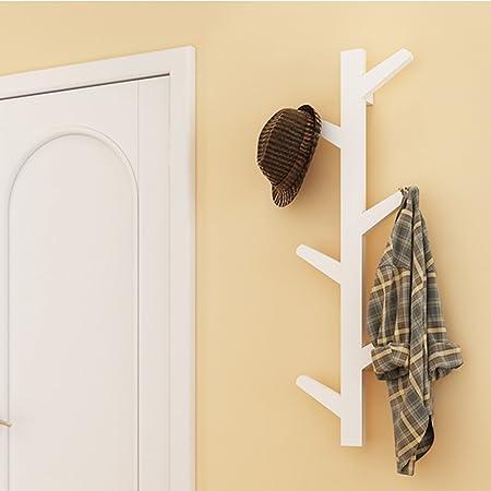 yazi Creative Tree Style Wall Mounted Hanger Coat Hat Rack Hook ...