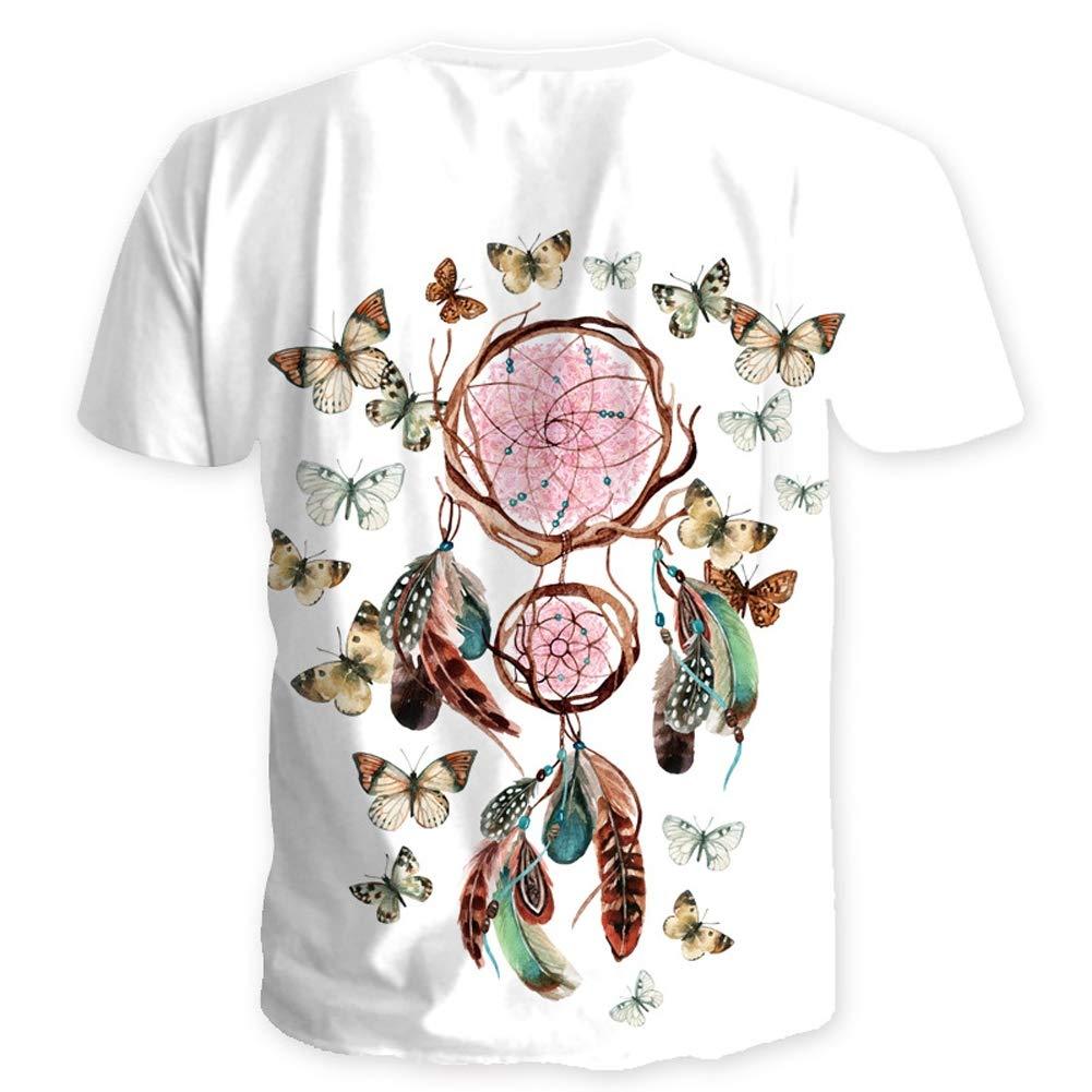 183cd8f43 Amazon.com: Genuxury Fashion Mens 3D Digital Printed Design Pattern T-Shirts  Top Tees: Clothing