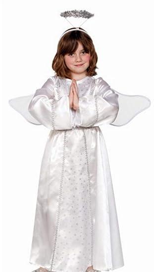 Fyasa 706359-t02 ángel disfraz, tamaño mediano: Amazon.es ...