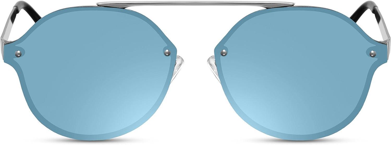 Cheapass Gafas de Sol Modernas Ojo de Gato Coloreadas Lentes Protección UV400
