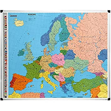 Carte Europe Janod.Carte De L Europe Magnetique Amazon Fr Fournitures De Bureau