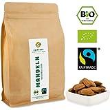 "Bio Fairtrade Mandeln: Rohkost und Naturbelassen (500g) | Ur-Sorte""Hassan Al Assad"" aus Kooperative in Palästina"