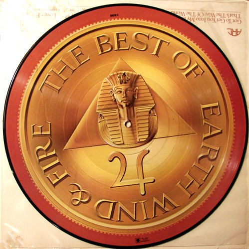 Earth Wind & Fire - Best Of, Picture Disc (Earth Wind And Fire Greatest Hits Vinyl)