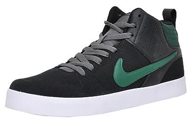 Nike Liteforce III MID Black and Green Sneakers(669594-031)- 12 UK