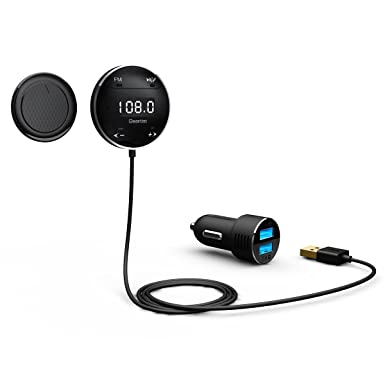 Schlussverkauf Fornorm Drahtlose Bluetooth Mp3 Player Car Kit Mit Fm Transmitter Auto Ladegerät Für Iphone6 Samsung Smart Telefon Mp3-player