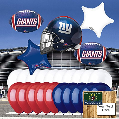 new york giants balloons - 7