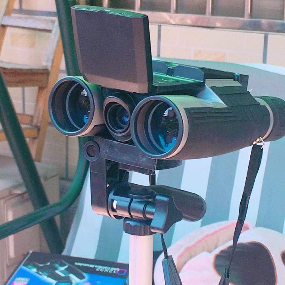 GBBG C/ámara de telescopio Binocular Digital con Zoom de 12x32 Sensor de 5MP Sensor de 2.0  TFT Full HD 1080p DVR Grabaci/ón de Video y Fotos Binoculares USB