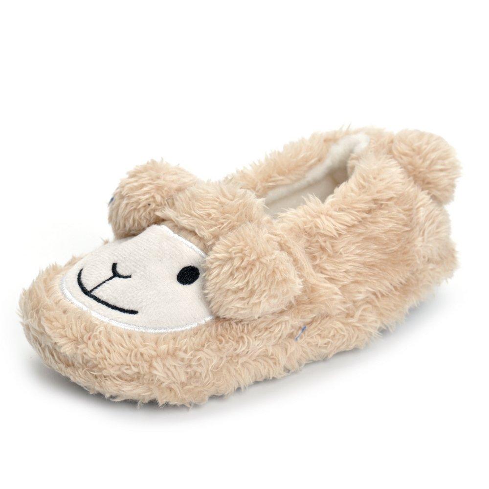 Matt Keely Bébé Garçon Fille Peluche Pantoufles Chaussons Bambin Enfants Hiver Maison Chaussures