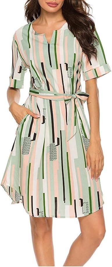 Vestidos Mujer Camisa Delgada Moda 2019 Sexy Solapa ...