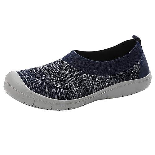 BASACA Sandalen Damen Frauen Mädchen Wanderschuhe Atmungsaktives Mesh Slip On Pumps Flexible Socken Schuhe Frau Sneakers Mode 2019