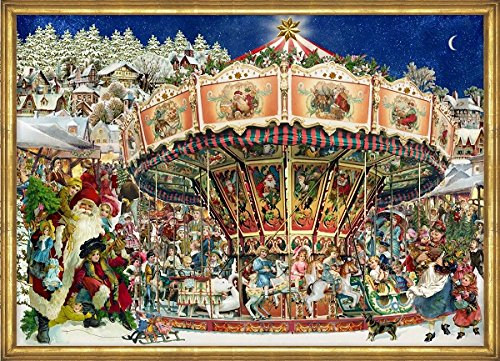 Victorian Merry-Go-Round German Advent Calendar