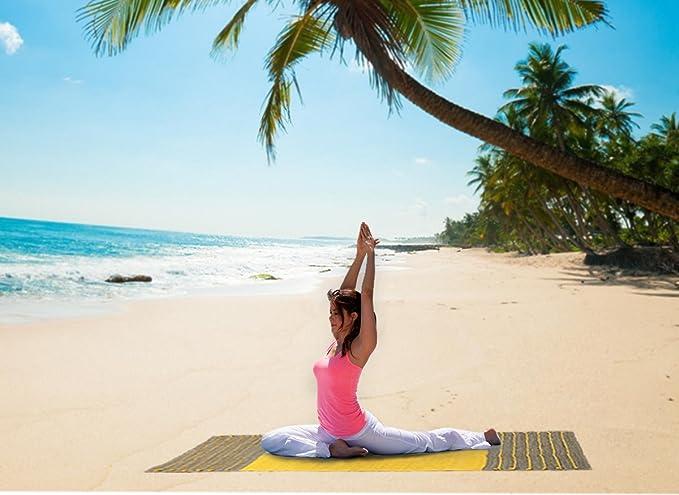 Amazon.com : Ecotrend Unique Ayurvedic Yoga Mat Organic ...