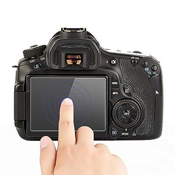 Amazon com : FANSONG Protective Screen Guard for Canon EOS