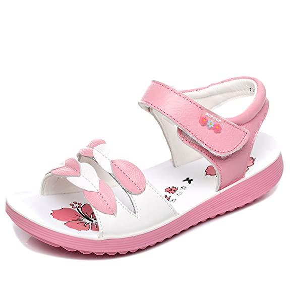 Agowoo Girls Cute Casual Walking Sandals (Toddler/Little/Big Kid):  Amazon.ca: Shoes & Handbags