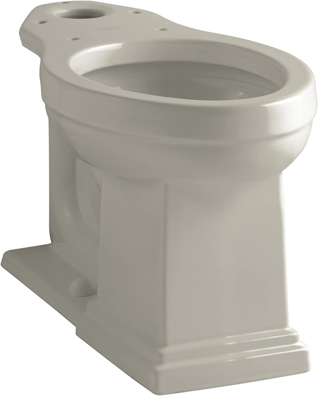 Biscuit Kohler K-4799-96 Tresham Comfort Height Elongated Bowl