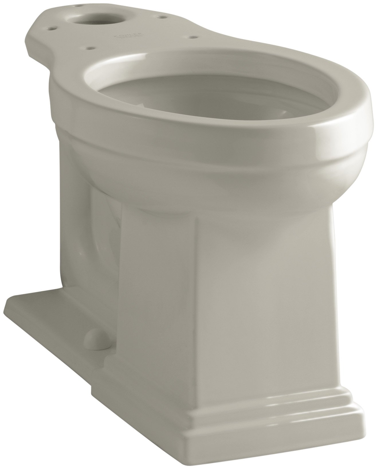 Kohler K-4799-G9 Tresham Comfort Height Elongated Toilet Bowl, Sandbar by Kohler