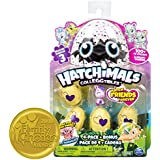 Hatchimals CollEGGtibles Season 3, 4-Pack + Bonus (Styles & Colors May Vary)