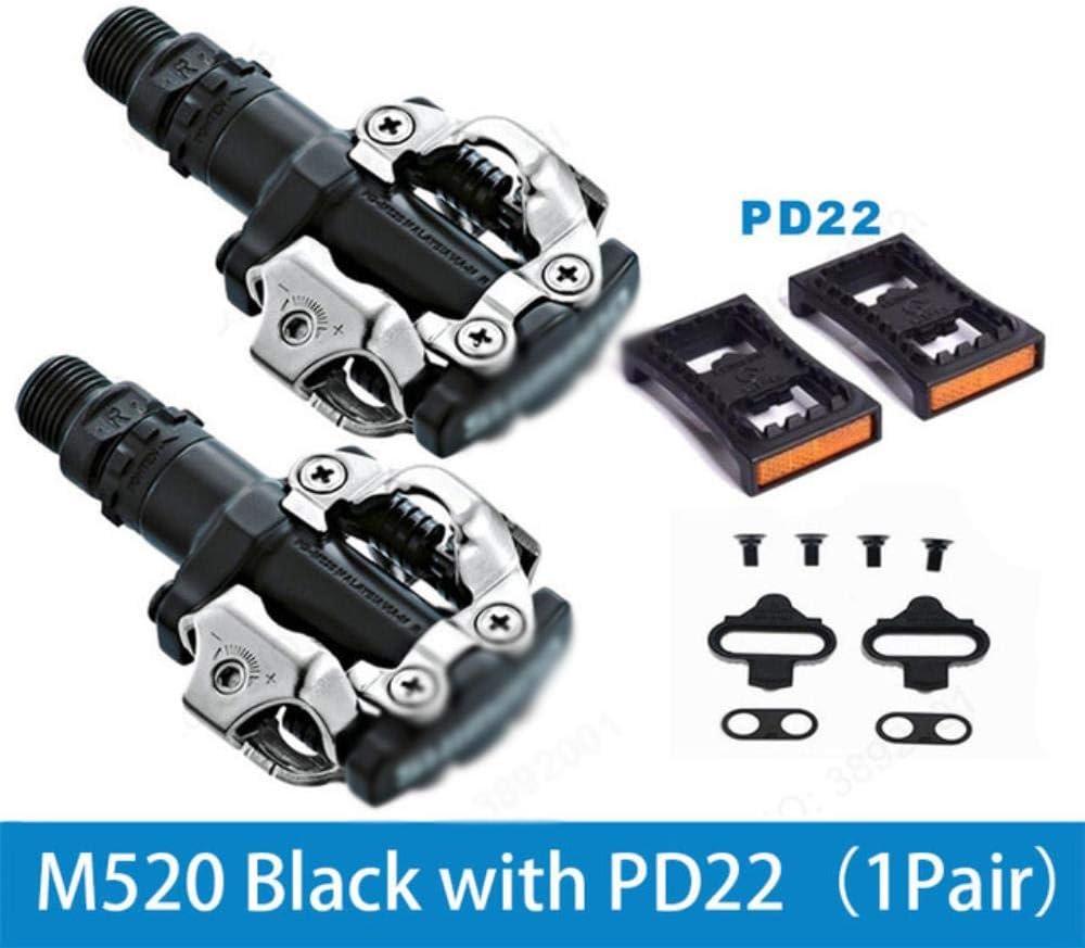 WOOAI PD M520 Pedales SPD automáticos Piezas de Bicicleta de ...