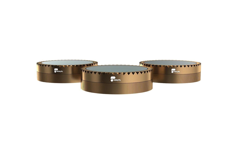 cin/éma s/érie pour DJI Air Mavic ND4//PL, ND8//PL, ND16//PL PolarPro Vivid Collection filtre 3-Pack
