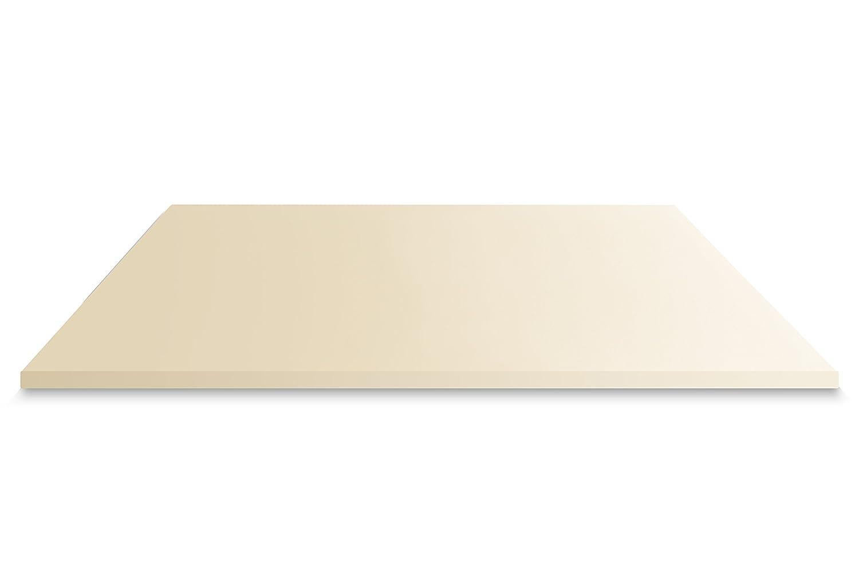 Mister Sandman Visco Matratzentopper Matratzenschutz Bezug Auflage für Matratze Härtegrad H2 H3