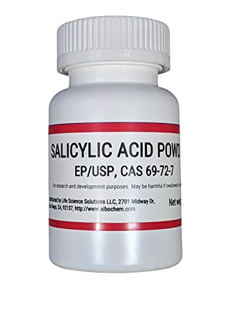 Salicylic Acid Powder 100 Grams, 99% Pure