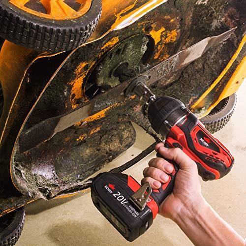 SHOPUS   NoCry 20V Cordless Impact Wrench Kit - 300 ft-lb
