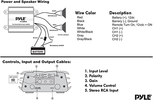 Boat Stereo System Wiring Diagram