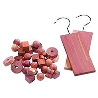 Compacteur Anti-Mites Cube de Bois de Cèdre pour Tiroirs