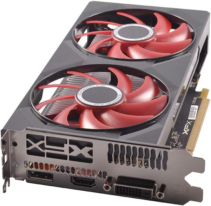 XFX RX 550 2GB DDR5 DD 1203MHz DP HDMI DVI PCI-Express 3.0 Graphics Card RX-550P2DFG5