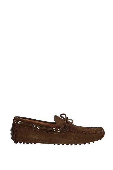 Car Shoe - Mocasines para hombre marrón marrón marrón Size: 44: Amazon.es: Zapatos y complementos