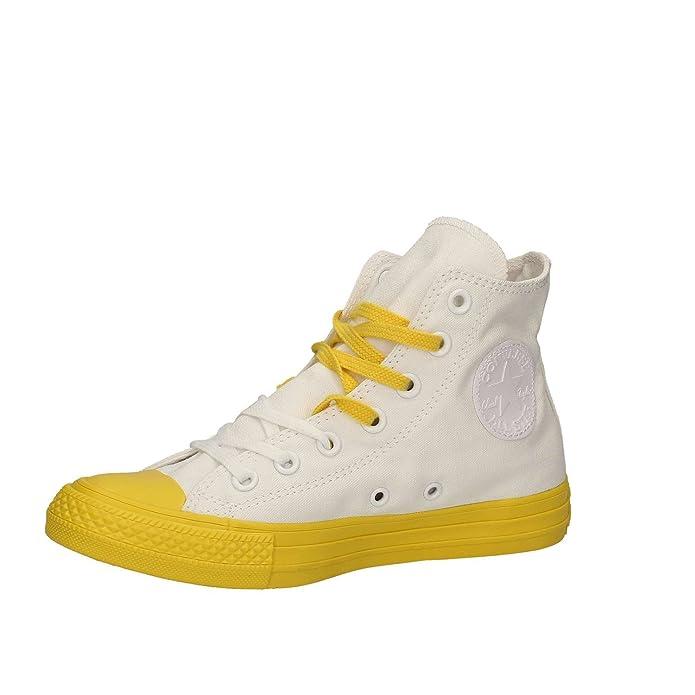 CONVERSE Schuhe Unisex Turnschuhe hoch 156764C CTAS HALLO Größe 44 Weiß nMyPVLJMI