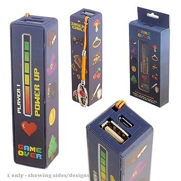 Puckator - Game Over - Cargador USB portátil Power Bank ...