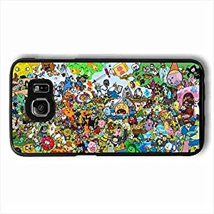 Personality customization Customized Adventure Time Hard Plastic Protective Customized Case Cover For Samsung Galaxy S6 For Girl By PLUS6A Case