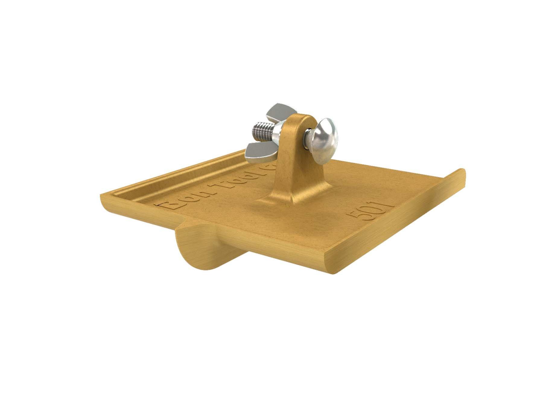 Bon 12-501 6-Inch by 4-1/2-Inch Bronze Walking Concrete Groover, 1/2-Inch Bit Depth, 3/8-Inch Bit Width by BON
